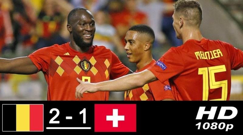 Hasil Belgia 2 vs 1 Swiss