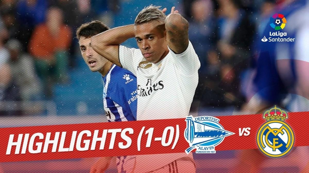 Real Madrid Menerima Kekalahan Lagi Saat Melawan Deportivo Alaves