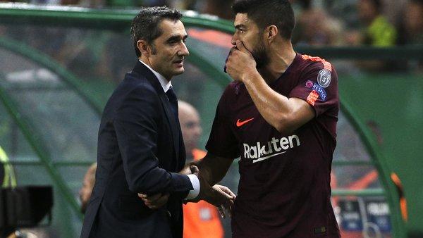 Ernesto Valverde Masih Mempercayai Luis Suarez