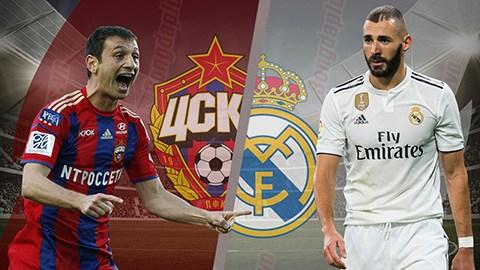 Hasil Liga Champions: Real Madrid Vs Cska Moscow