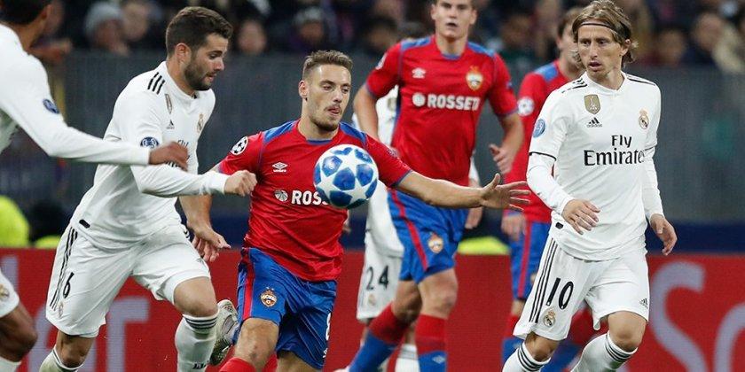 Real Madrid Vs Cska Moscow