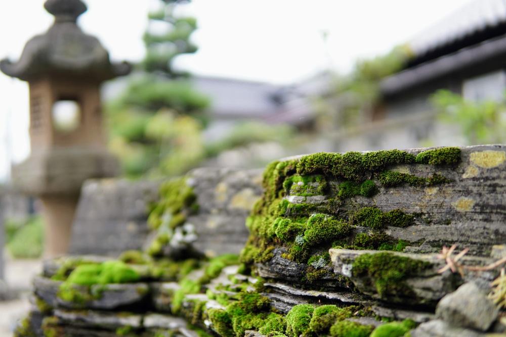 A shrine near Tsuruoka, home to the Dewa Sanzan