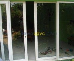 Pusat pembuatan kusen UPVC - rumah cipinang (2)