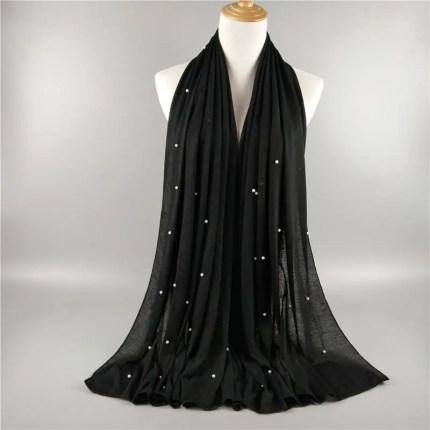 jersey cotton scarf