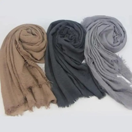 crinkle scarf