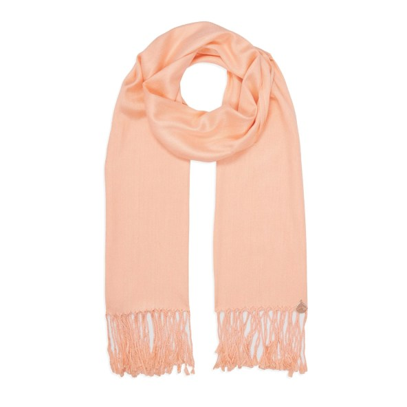 Pashmina Shawl - Soft-Touch - Peach