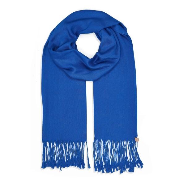Pashmina Shawl - Soft-Touch - Royal Blue