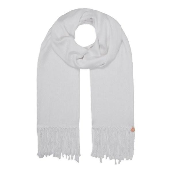 Pashmina Shawl - Soft Touch - White