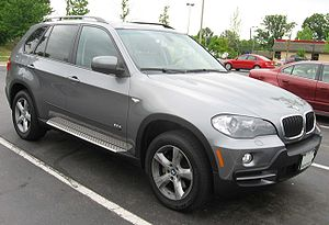 2007 BMW X5 photographed in USA.