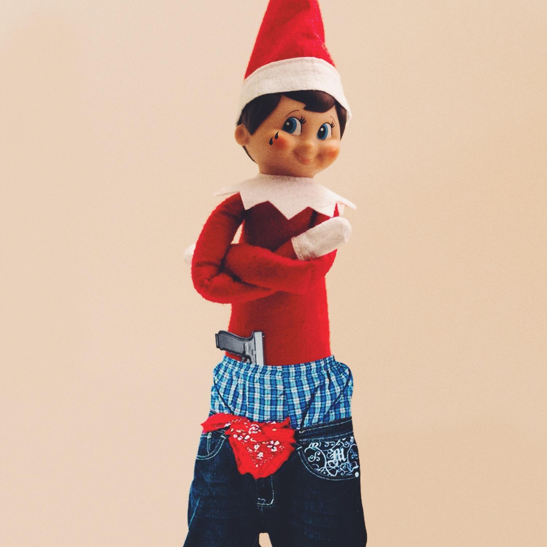 Buster The Bad Elf Gangsta Dewberry Cinema
