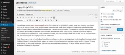 webwinkel webshop-Product beschrijving