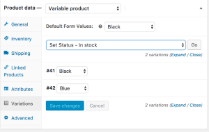 Woocommerce-variabele-producten-setstockstatus-variations