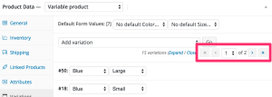 Woocommerce-variabele-producten-variations-pagination