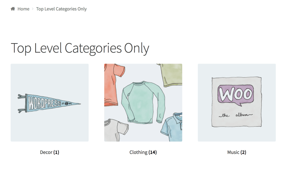 woocommerce-shortcodes-top-level-categories-only