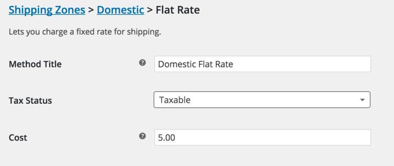 WooCommerce-vaste-verzendkosten-defineflatrate