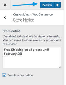 woocommerce-customizer-storenotice-publish