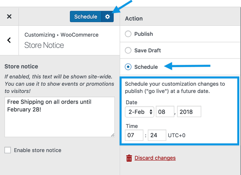 woocommerce-customizer-storenotice-schedule-change