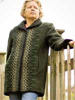 3/4-Length Wool Jacket