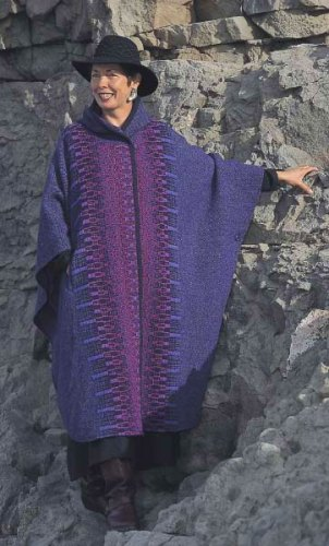 Long cape in Iris
