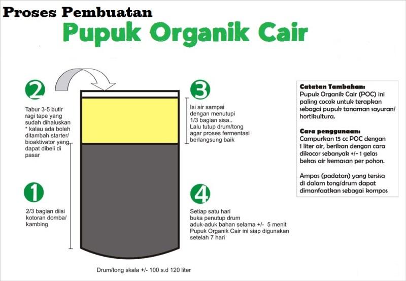 cara membuat pupuk organik cair dari kotoran kambing