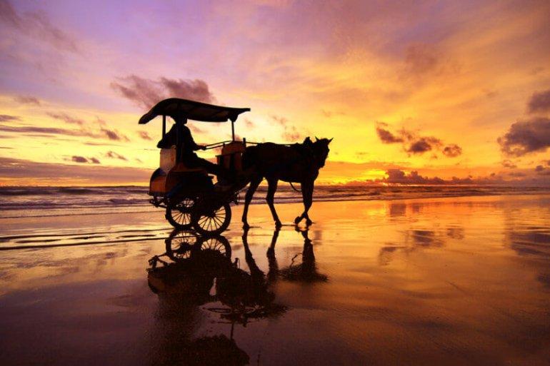 tempat melihat sunset di Jogja