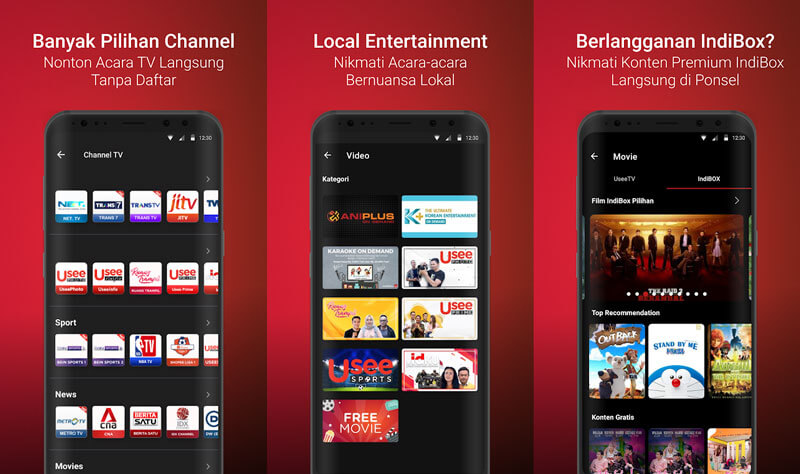 aplikasi streaming