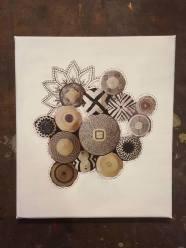 workshop collage op doek 14