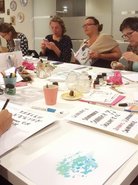 workshop Handlettering Studio Suikerzoet 21