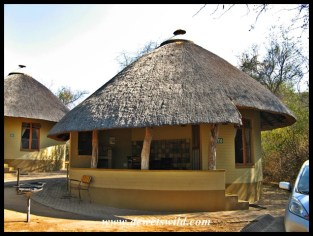 Bungalow 210 - our favourite hut in Skukuza