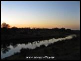 Just before sunrise, from Shipandani Hide