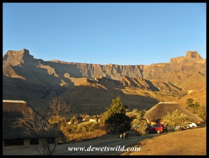 Early morning in Thendele