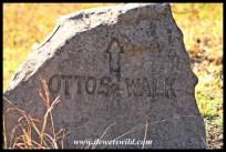 Otto's Walk route marker