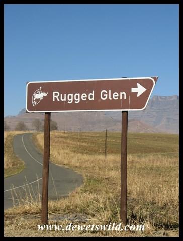 Turnoff to Rugged Glen
