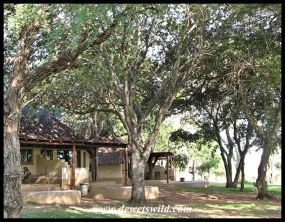 Lower Sabie bungalows and gardens