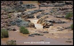 The Olifants makig its way through rugged rocks