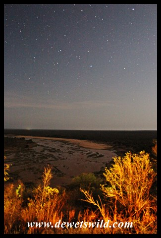 Night over the Olifants