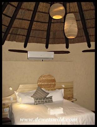Bedroom in Addo's new Nyathi Camp