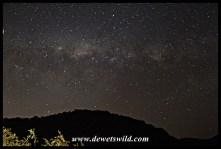 Night sky over Addo's new Nyathi Camp