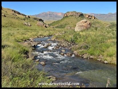 Walking along the Bushmans River