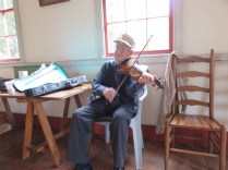 92 years old - US Vet - fiddler