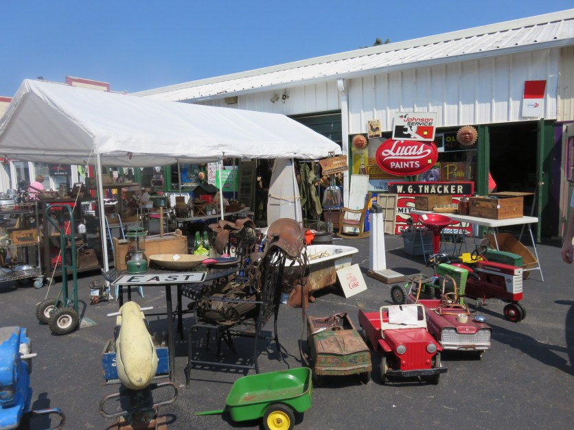Just 1 of MANY flea market booths