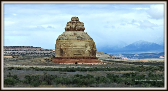 """Adjacent to HWY 191 ...very similar to a petrified sand dune in Arches NP... I call it """"The Beehive"""""""