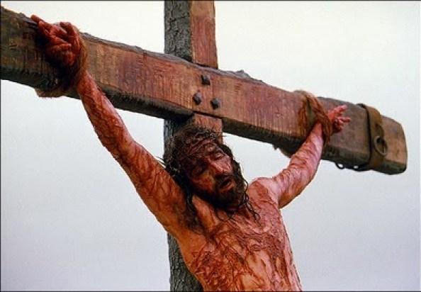 jezus gekruisigd