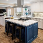 Contemporary White Kitchen Cabinets Dewils Custom Cabinetry