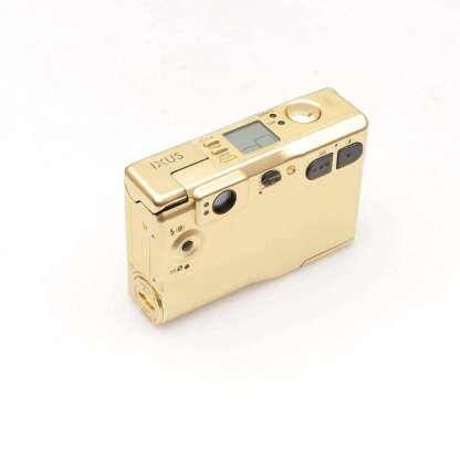 Canon Ixus limited edition goud