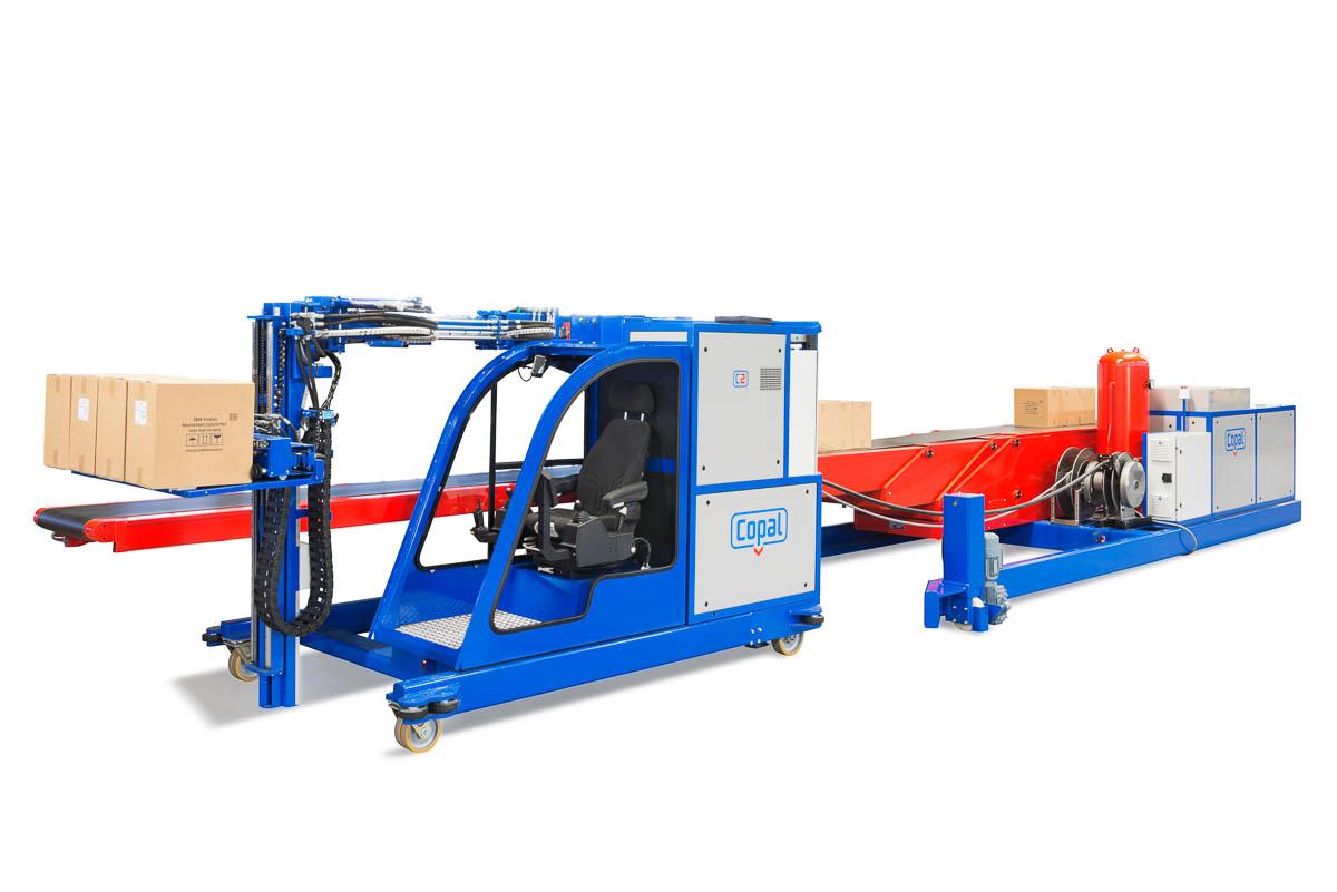 Een innovatieve machine om zeecontainers snel en veilig te ontladen