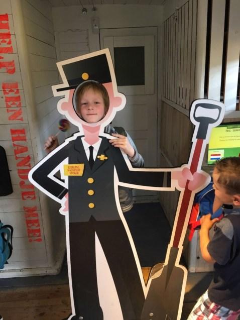 schoolreisje spoorwegmuseum