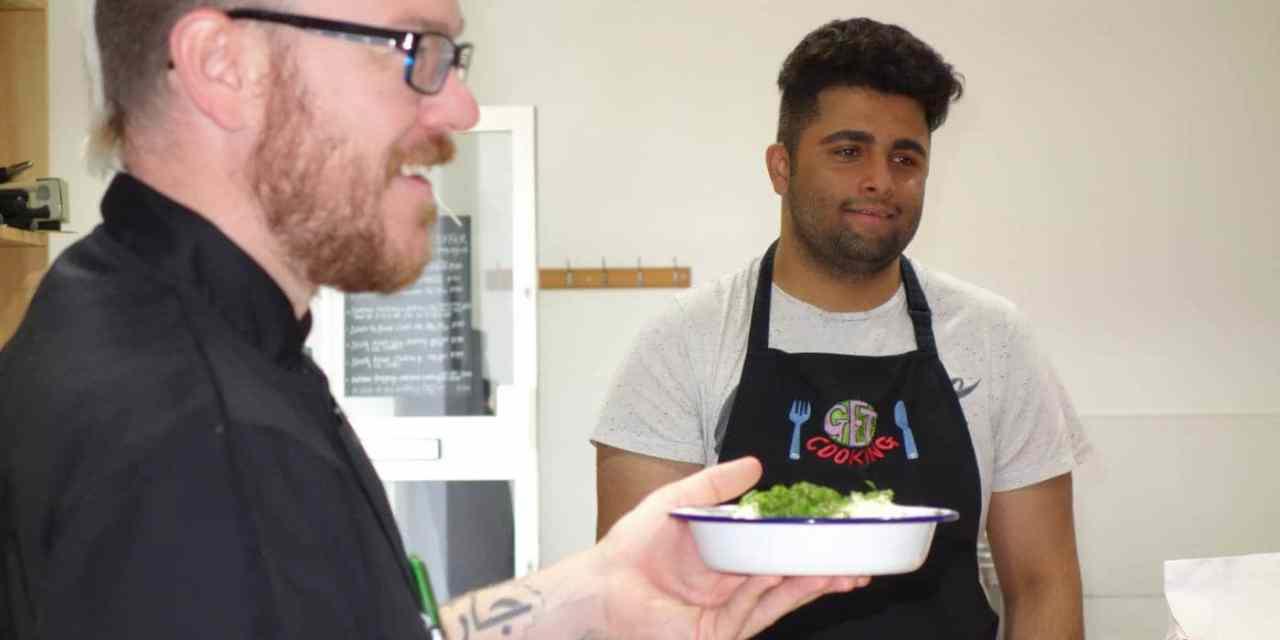 A Deaf Cooking Workshop