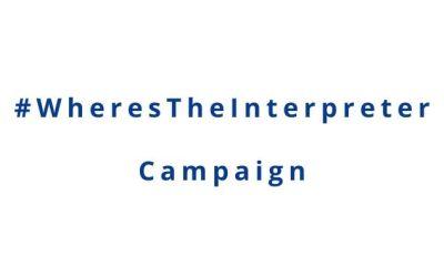 Where's The Interpreter Campaign