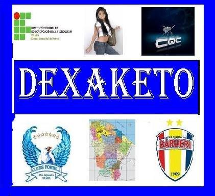 Primeiro Logo Dexaketo em 2009